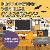 Halloween Bitmoji Virtual Classroom - PowerPoint Edition