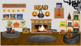 Halloween Themed Virtual Classroom Library with Live Links