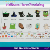 Halloween Themed Vocabulary & Grammar Activities