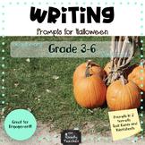 Halloween Themed Writing Tasks