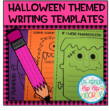 Halloween Themed Writing Templates!