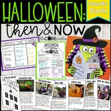 Halloween: Then & Now- Reading, Writing and Art with a Printable Text (4-6)