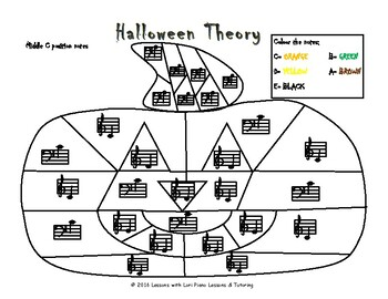 Halloween Theory: Note Names (Pitch)
