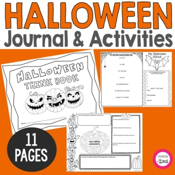 Halloween Think Book Guided Journal