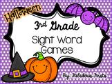 Halloween Third Grade Sight Words