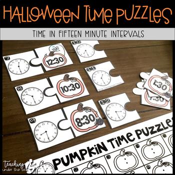 Halloween Time Puzzles *FREEBIE*