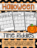 Halloween Time Riddles