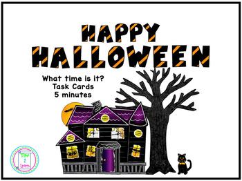 Halloween Time Task Cards