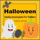 Halloween Toddler Lesson Plan