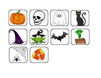 Halloween Token Chart FREE