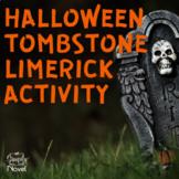 Halloween Tombstone Limerick {FREE}