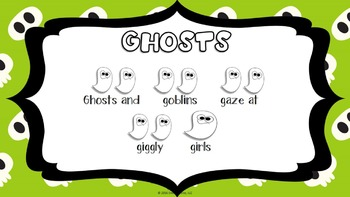 Halloween Tongue Twisters Halloween Music Activity By Emily Conroy