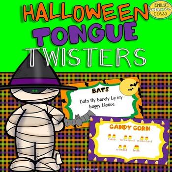 Halloween Tongue Twisters (Halloween Music Activity)