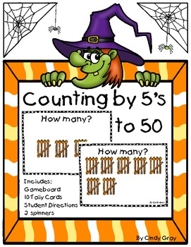 Halloween Topper Count by 5's