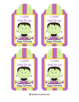 Halloween Toppers and Tags - Set 2