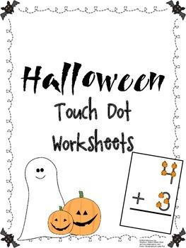 FREEBIE Halloween Touch Dot Worksheets