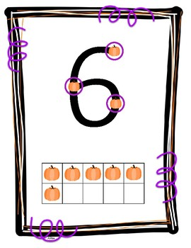 Halloween Touch Math Posters