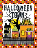 Halloween Town Packet Reading Comprehension Grade 4 5 6 7 {2 set Paired Passage}