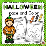 Halloween Trace and Color Printables