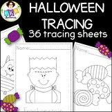 Halloween Tracing Activity Sheets ● Tracing Activity ● Pre-Writing ● NO Prep