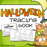 Halloween Tracing Book
