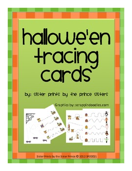 Halloween Tracing Cards