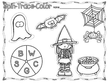 Halloween Tracing - FREEBIE!