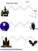 Halloween Tracing Fine Motor Pre-K, K, Special Education Early Childhood Centers