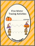 Halloween Tracing Fine Motor Pre-K, K, Special Education E