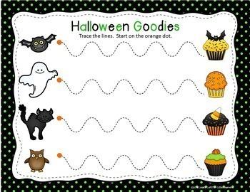 Halloween Tracing Printables