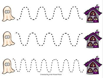 Halloween Tracing Sheets