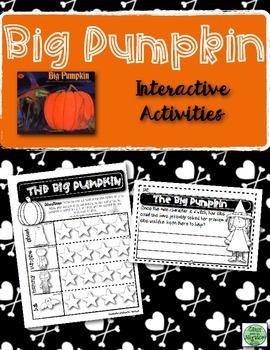 Halloween Trade Book Activity Sheet