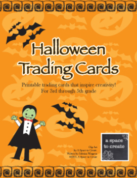 Halloween Trading Cards
