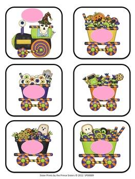 Halloween Train Colour Set