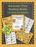 Halloween Reading Center Activities Kindergarten 1st 2nd CVC Words and Sentences