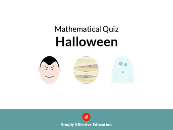 Halloween Treasure Hunt / Relay / Quiz