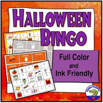 Halloween BINGO Vocabulary Activity