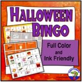 Halloween BINGO Game Vocabulary Activity