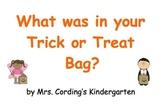 Halloween Treat Predictable Book