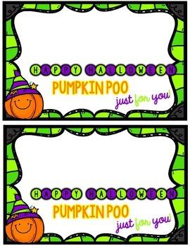Halloween Treat Tag