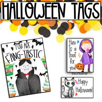 Halloween Treat Tags