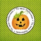 Halloween Treat Tags FREEBIE