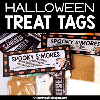 Halloween Treat Tags Free
