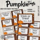 Halloween Treat Tags - Pumpkins
