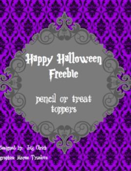 Halloween Treat Topper