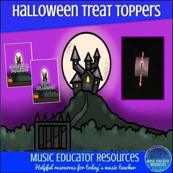 Halloween Treat Toppers