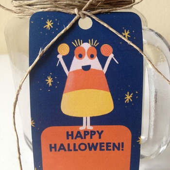 Halloween Treat Bag Tags / Goodie Bag Labels