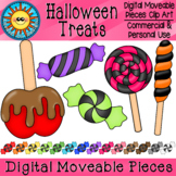 Halloween Treats Digital Moveable Clip Art