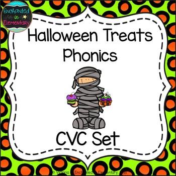 Halloween Treats Phonics: CVC Words Pack