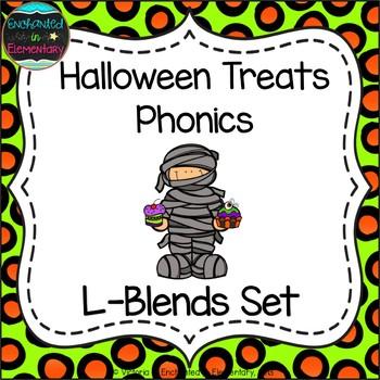 Halloween Treats Phonics: L-Blends Pack